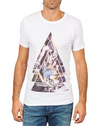 ELEVEN PARIS T-shirt Korte Mouw Berlin M Men - Wit