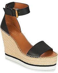 See By Chloé Glyn platform sandals - Schwarz
