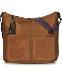 Bensimon - Shoulder Tote Mat Women's Shoulder Bag In Brown - Lyst