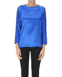 Shirt C-zero TPC0000C9048E Blouses - Bleu