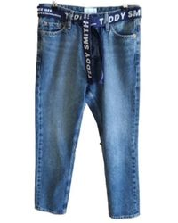 Teddy Smith KATE HW Jeans - Bleu