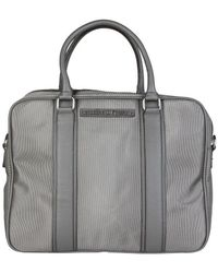 Trussardi - 71b984t_antracite Men's Briefcase In Grey - Lyst