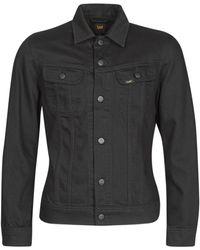 Lee Jeans Spijkerjack Slim Rider - Zwart