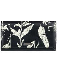 Roxy - /cartera Erjaa03309 Women's Purse Wallet In Black - Lyst