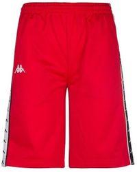 Kappa Banda Treadwell Shorts Pantalon - Rouge