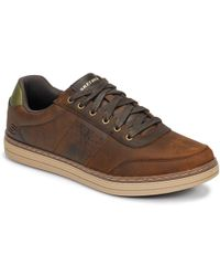 bd01a2829e6 Skechers - Men Usa Men s Shoes (trainers) In Brown - Lyst