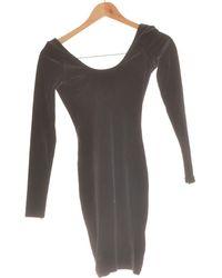 American Apparel Robe Courte 36 - T1 - S Robe - Noir