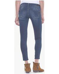 Le Temps Des Cerises Topaz pulp slim 7/8ème jeans bleu-noir Jeans skinny