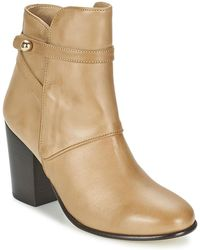 Paul & Joe - Molly Women's Mid Boots In Beige - Lyst