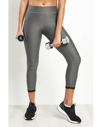 Under Armour - Heatgear® Armour Ankle Crop Women's Tights In Multicolour - Lyst