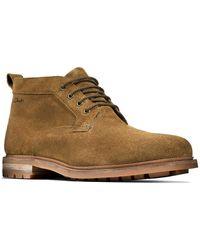 Clarks Boots Foxwell Mild - Marron