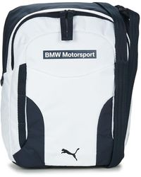 292f4f2cb4 PUMA - BMW MOTORSPORT PORTABLE hommes Sacoche en blanc - Lyst
