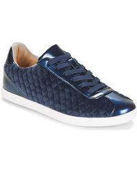 André Lage Sneakers Velvet - Blauw
