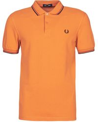Fred Perry Polo TWIN TIPPED SHIRT - Neutro