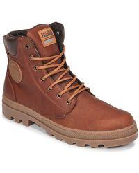 Palladium Boots - Marron