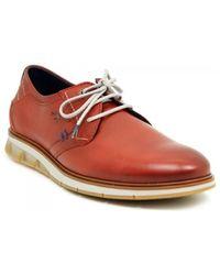 Fluchos Zapatos Bajos F0776 - Rojo