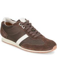 BOSS by Hugo Boss - Orlando Low Profile Men's Shoes (trainers) In Brown - Lyst