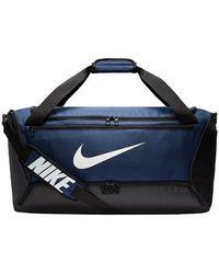 Nike Bolsa de deporte Brasilia Duffel 9.0 - M - Azul