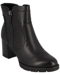 Tamaris - Boots Chelsea Talon Bloc 65 Mm Bottines - Lyst
