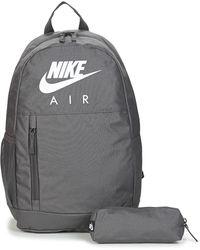 Nike Rugzak Y Elmntl Bkpk - Gfx Fa19 - Grijs