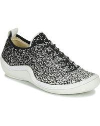Think! Lage Sneakers Kapsl - Zwart