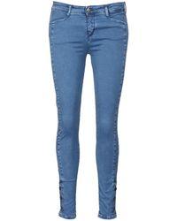 Acquaverde Skinny Jeans Alfie - Blauw