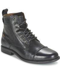 Levi's EMERSON LACE UP Boots - Noir