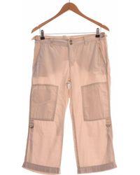 Esprit Pantacourt Femme 40 - T3 - L Pantalon - Neutre