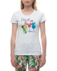 Pennyblack REPLICA-2433COCKTAIL T-shirt - Blanc