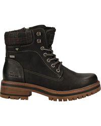 Tom Tailor Bottines Boots - Noir