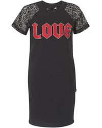 Love Moschino Robe - Noir
