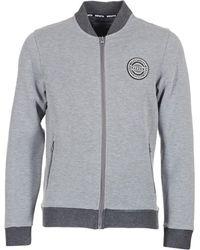 Bench - Reversible Bonded Bomber Sweat Jkt Men's Jacket In Grey - Lyst