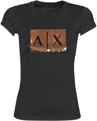 Armani Exchange HONEY T-shirt - Noir