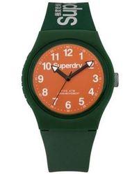 Superdry Armbanduhr UR - SYG164ON - Grün