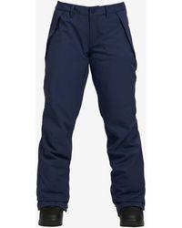 Burton Women's Society Snowboard Pant Jogging - Bleu