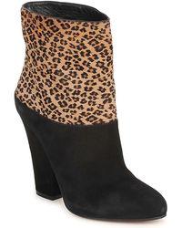 Sebastian - Cavallino Women's Low Ankle Boots In Black - Lyst