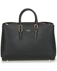 Tommy Hilfiger Handtas Honey Workbag - Zwart