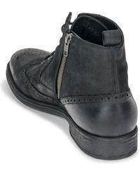 Geox Laarzen U Jaylon - Zwart