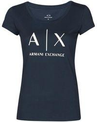 Armani Exchange 8NYT70-YJ16Z T-shirt - Bleu