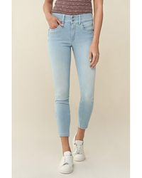 Salsa Jean Secret Push In Cropped Jeans skinny - Bleu
