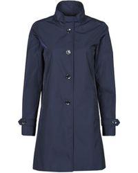 Esprit Trenchcoats GABARDINE - Blau