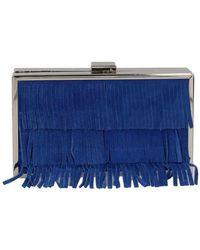 Velvet SMART7 embrayage Femme Blue Pochette - Bleu