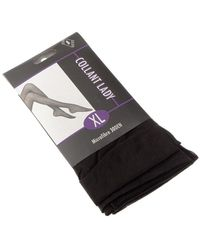 Intersocks Collant fin - Transparent - Lady Collants & bas - Noir