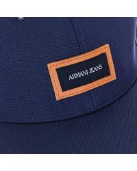 Armani Jeans Gorra Gorra - Azul