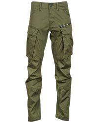 G-Star RAW Rovic Zip 3D Tapered, Pantalones para Hombre, Verde (Dk Bronze Green 6059), W26/L28