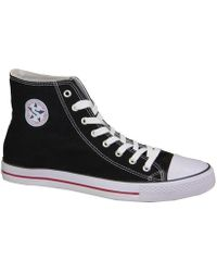 Smith's - 1043blrd Women's Shoes (high-top Trainers) In Black - Lyst