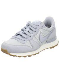 Nike - Internationalist Men's Shoes (trainers) In Grey - Lyst