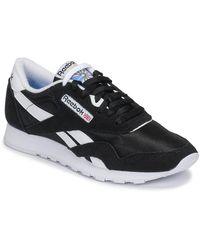 Reebok Lage Sneakers Cl Nylon - Blauw