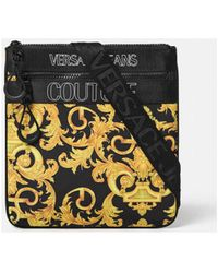 Versace Jeans Couture Sacoche Couture E1ywaba4 Dis 4 Sacoche - Noir