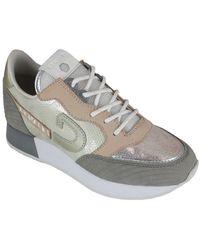 Cruyff Parkrunner skin/gold femmes Chaussures en Doré - Métallisé